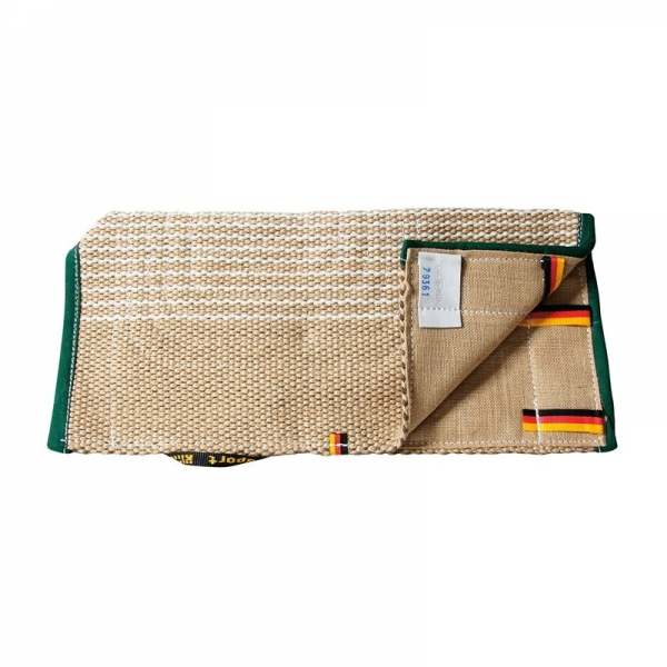 Padded covering of jute